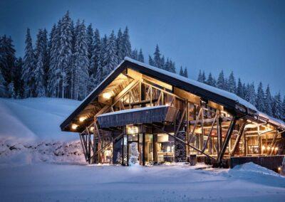 Tom's Skihütte