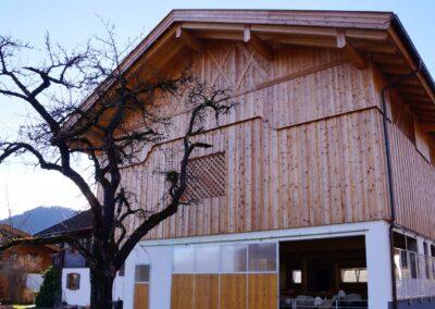 Neubau Stall